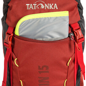 Tatonka Wokin 15 Backpack Kids, redbrown
